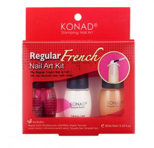 Zestaw Konad do french manicure/pedicure