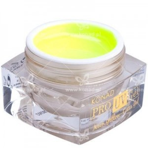 Żel Neon Yellow Konad Easy-off PRO UV 7g