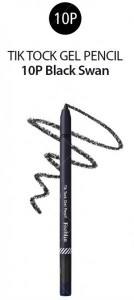 Feeblin Tik Tock Gel Pencil 10 Black Swan