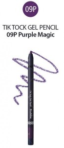 Feeblin Tik Tock Gel Pencil 09 Purple Magic