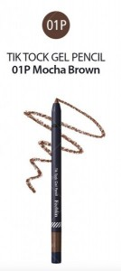 Feeblin Tik Tock Gel Pencil 01 Mocha Brown