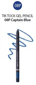 Feeblin Tik Tock Gel Pencil 08 Captain Blue