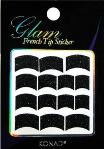 Naklejki French Glamour black