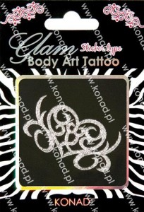 Glam Body art Tattoo KTM-01