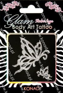 Glam Body art Tattoo KTM-02