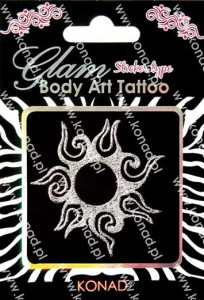 Glam Body art Tattoo KTM-03