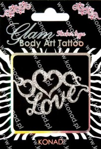 Glam Body art Tattoo KTM-04