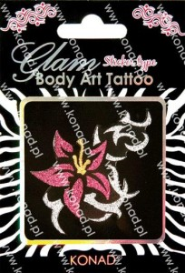 Glam Body art Tattoo KTM-05