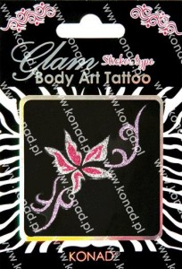 Glam Body art Tattoo KTM-06