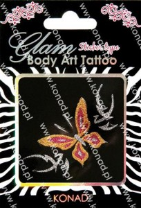 Glam Body art Tattoo KTM-07