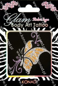 Glam Body art Tattoo KTM-08