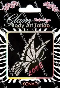 Glam Body art Tattoo KTM-09