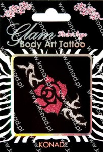 Glam Body art Tattoo KTM-10