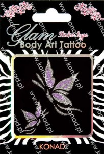 Glam Body art Tattoo KTM-11