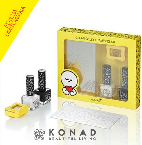 Clear Stamping Set HONEYMOON Konad